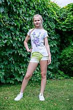 Детская футболка для девочки JBE Италия 132BIFN005 Белый