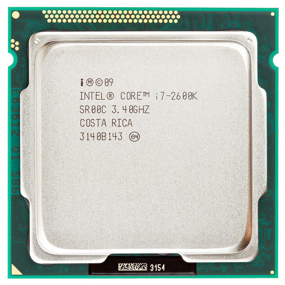 "Процессор Intel Core i7-2600K BX80623I72600K 3.4GHz Socket 1155 Tray ""Over-Stock"" Б/У"