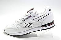 Кроссовки мужские в стиле Reebok Classic Leather, White\Black