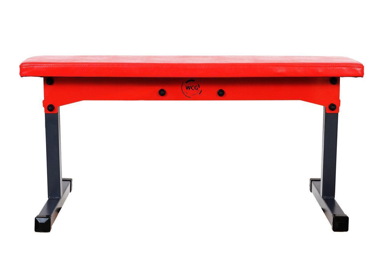 Скамья универсальная WCG Red горизонтальная складная