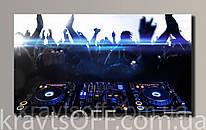 """Картина на холсте """" Pioneer DJ '' ( 31х54 см )"""
