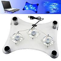 Охолоджуюча підставка (кулер) для ноутбука Notebook Cooler RX 830