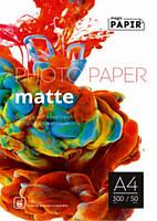 Фотопапір PAPIR (Magic) А4 матова 300g (50л)
