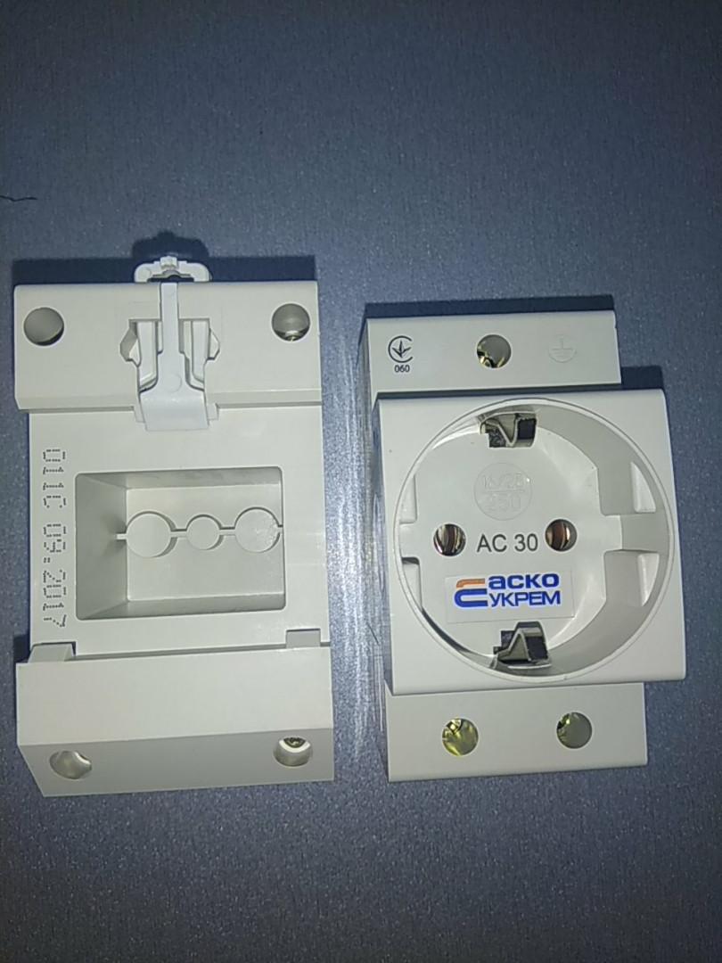 Розетка АС30-5 /  Розетка с заземлением AC30-5