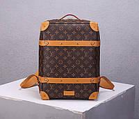 Мужской рюкзак Louis Vuitton Soft Trunk Monogram (Луи Витон)
