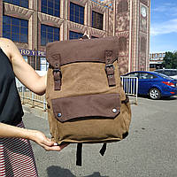 """Большой рюкзак для путешествий, городской, повседневный """"Сейбл Brown"""", фото 1"""