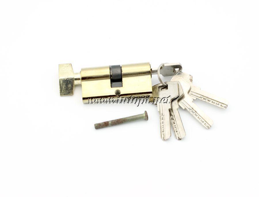 Cердцевина замка 30/30 Барашек/ключ 5 ключа