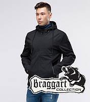 Модная мужская весенняя ветровка Юз Бреггарт черная - M, L