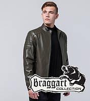 Короткая мужская демисезонная куртка Braggart Youth цвет хаки