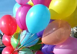 Воздушные шарики латексные без рисунка