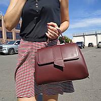"""Женская повседневная сумка """"Каталина Red Wine"""", фото 1"""