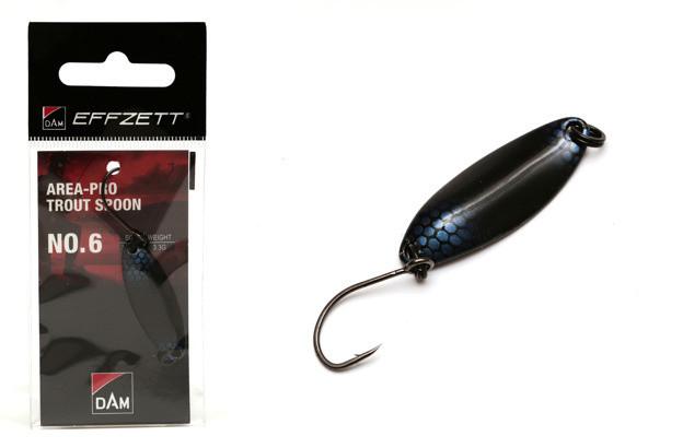 Блесна D•A•M EFFZETT® Area-Pro Trout Spoon №6 3.3гр 33.5мм (цвет- black blue)
