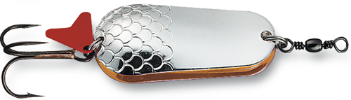Блесна D•A•M EFFZETT® BLINKER DOPPELT 16гр 45мм (цвет-серебро/медь)