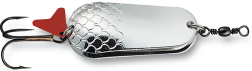 Блесна D•A•M EFFZETT® BLINKER DOPPELT 30гр 65мм (цвет-серебро/серебро)