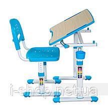 Зростаюча парта для хлопчика/дівчинки FunDesk Piccolino II Blue, фото 2
