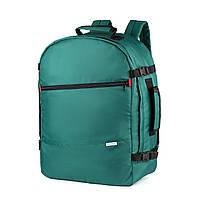 """Рюкзак для ручной клади 55x40x20 Wascobags """"J-Satch L"""" Зеленый"""