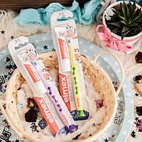 Зубная паста и щетка с 6 месяцев до 3 лет Эльмекс