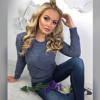 Молодежный легкий свитерок, фото 1