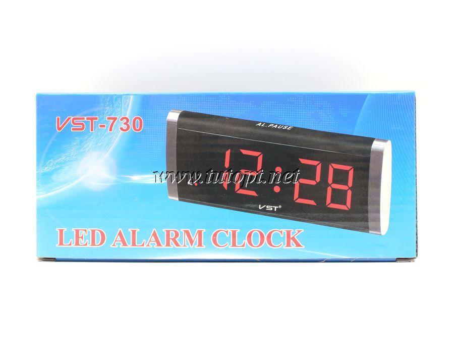 Электронный будильник VST - 730 в розетку 220V