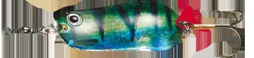 Блесна D•A•M EFFZETT® BLINKER SUPER NATURAL 30гр 65мм (цвет-окунь)