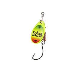 Блесна D•A•M EFFZETT® SPINNER Fluo With Single Hook №2 4гр (цвет- trio)