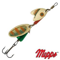 Блесна Mepps Tandem Trout Gold/Green/Orange 6.5гр №1 (30735 008)