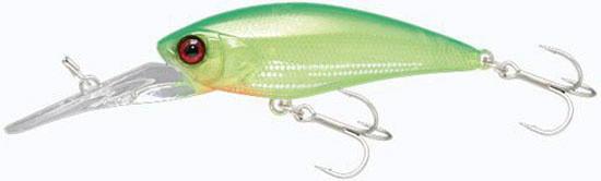 Воблер Jackall D-Bill Shad 55MR 5.8 g Shigure Lime Chartreuse Floating