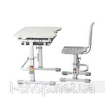 Комплект парта + стул трансформеры Vivo Grey FUNDESK, фото 2