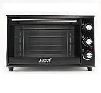 Электрическая печь духовка A-PLUS на 35 л 1800 Ватт 1580 настольная для кухни, фото 1