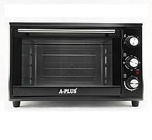 Электрическая печь духовка A-PLUS на 35 л 1800 Ватт 1580 настольная для кухни