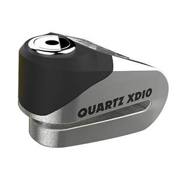 Замок противоугонный Oxford Quartz XD10 Chrome 10mm *