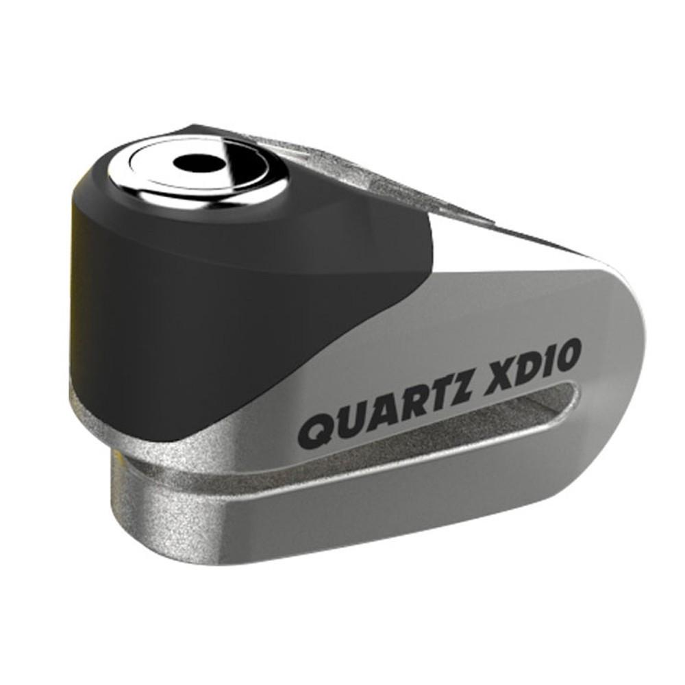 Замок противоугонный Oxford Quartz XD10 Chrome 10mm
