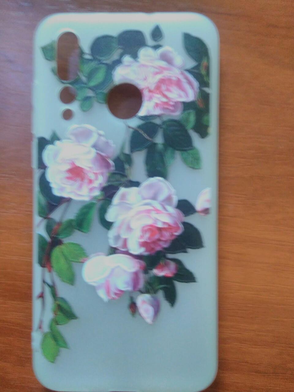 Накладка с рисунком  Berry-Flowers   Huawei Nova 4