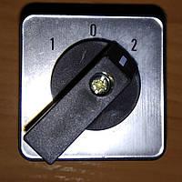 Переключатель кулачковый ПКП 3 полюса 20А 1-0-2 380В