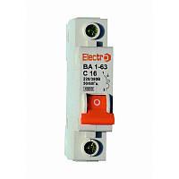 Автоматический выключатель ВА1-63 1 полюс 2,5A 4,5кА х-ка С