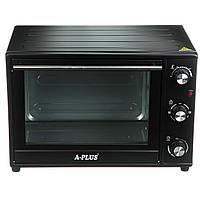 Электрическая печь духовка A-PLUS на 40 л 2000 Ватт 1581 настольная для кухни