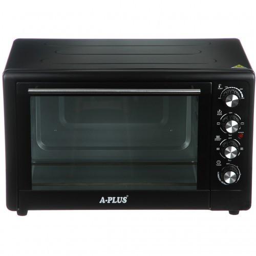Духовка електрична піч A-PLUS на 49 л 2000 Ватт 1582 настільна для кухні