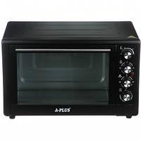 Духовка електрична піч A-PLUS на 49 л 2000 Ватт 1582 настільна для кухні, фото 1