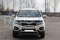 Кенгурятник Кенгур Передняя защита Kia Sorento 2013-