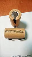 Аккумулятор технический Bossman SC 1,2V  2200mAh  Ni-Cd