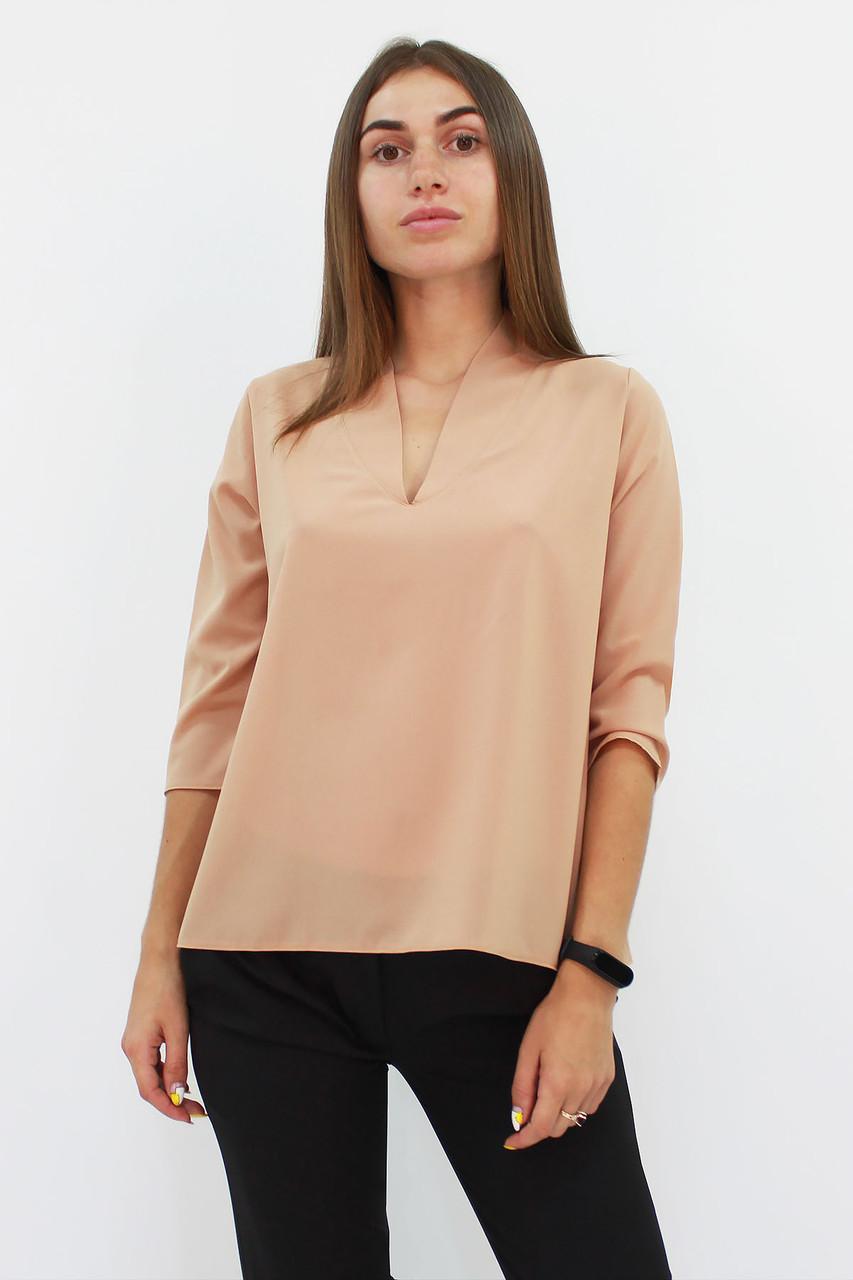 S, M, L, XL / Класична жіноча блузка Lorein, бежевий