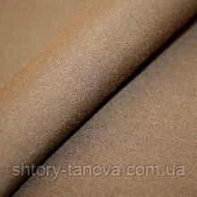 Дралон однотон.т.коричневый тефлон