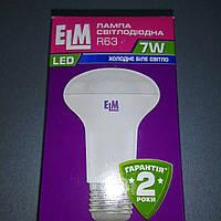 Лампа светодиoдная ELM R63 Е27 4000К