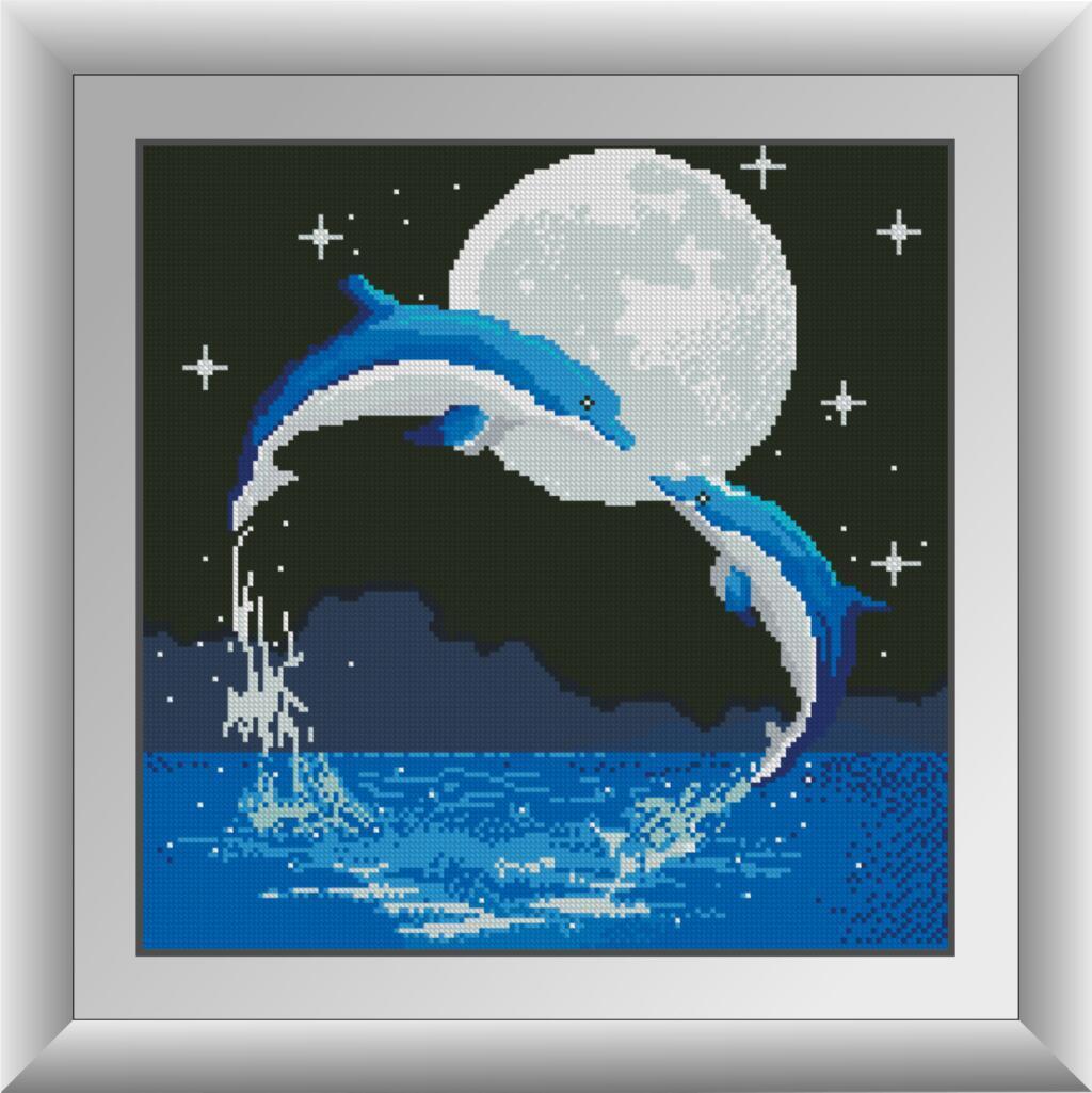 Картина в алмазной технике Ночь любви Dream Art 30870 (40 x 40 см)