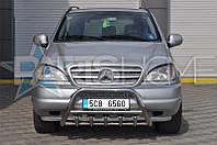 Кенгурятник Кенгур Передняя защита Mercedes ML163 1997-2004