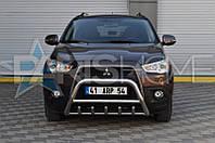 Кенгурятник Кенгур Передняя защита Mitsubishi ASX