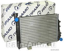 """Радиатор охлаждения ВАЗ 2107, 2104, 2105 карбюратор (ЛР2107) """"Прамо"""". 2107-1301012"""