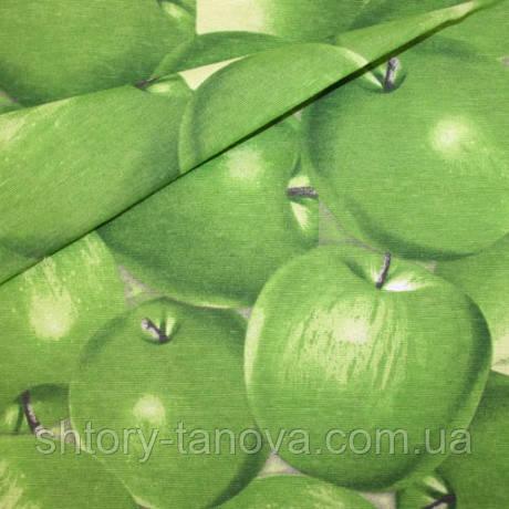 Декор помас яблоки зеленый