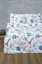 Постельное белье Lotus Ranforce Emily бирюзовое двухспального размера