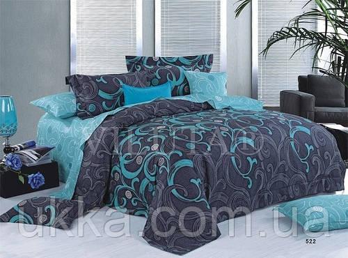 Двухспальное постельное белье ранфорс Вилюта 9844